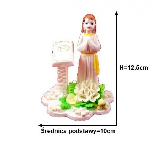 a122b6db666666 Ozdoby i dekoracje na tort komunijny - Hurtownia cukiernicza Henryka ...